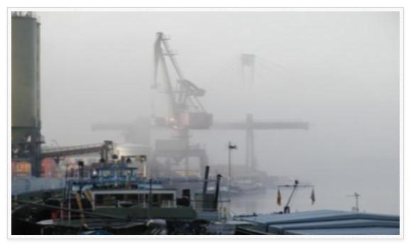 Der Freihafen in Deggendorf